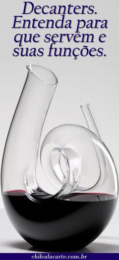 Como e porque. Wine House, Wine Charms, Wine Decanter, Wines, Barware, Wine Lover, Friends, Chile, Wine Guide