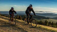 Bikers in Erzgebirge Gottes Gab