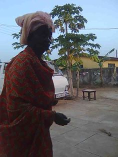 my mother in law, Accra,Ghana 2009