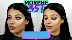 MORPHE 35T PALETTE TUTORIAL | FALL/WINTER GLAM MAKEUP
