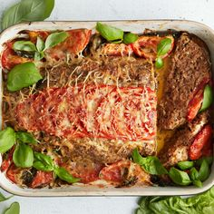 Meatloaf, Lasagna, Food And Drink, Baking, Healthy, Koti, Ethnic Recipes, Drinks, Drinking