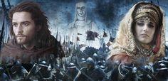 Balduíno IV, Sibylla e Balian de Ibelin... pessoas que deixaram seus nomes nos livros de história.