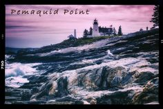 If you're ever up near Booth Bay, #Maine, be sure to check out Pemaquid Point #lighthouse! #photography #vintage