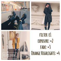 Instagram media by filter.queen_ - orange filter - looks best with: everything! - #vsco #vscocam #vscocamfilters