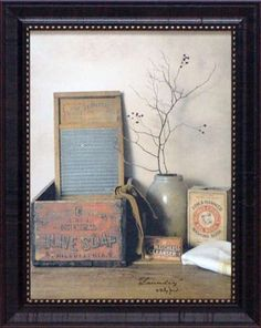 New Primitive Billy Jacobs LIGHT OF THE WORLD Bible Candle Wall Hanging Picture
