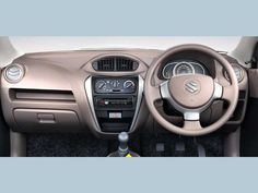 Three spokes on the steering wheel for better driving comfort.