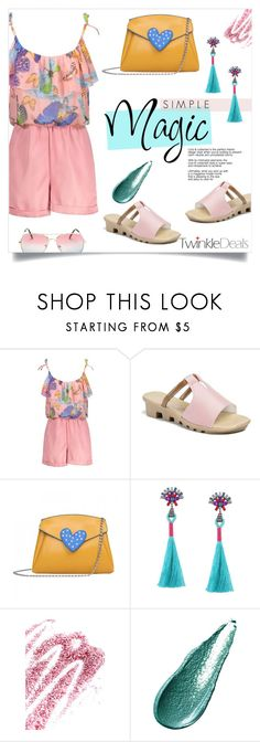 """""""Simple Magic"""" by mahafromkailash ❤ liked on Polyvore featuring Obsessive Compulsive Cosmetics and Giorgio Armani"""