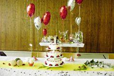 Folienballons zum Geburtstag oder auch zur Hochzeit als tolle Dekoration