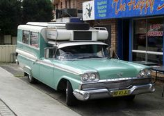 1960 Ford Fairlane 500 Motorhome (Australian)