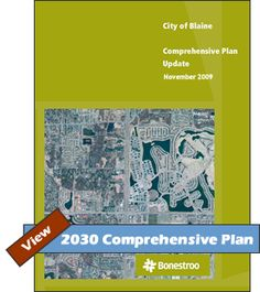View 2030 Comprehensive Plan | Planning Department | Blaine MN