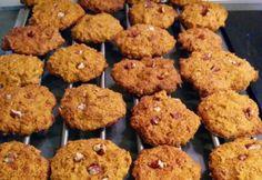 Egészséges sütőtökös keksz   NOSALTY Healthy Sweets, Healthy Eating, Healthy Recipes, Healthy Food, Candida Diet, Baking And Pastry, Muffin, Cookies, Breakfast
