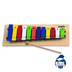 Jogos de sinos Goldon e outros instrumentos para educação musical, compre no Salão Musical de Lisboa.