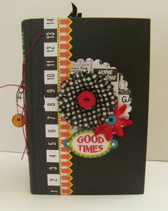 GOOd tiMeS  aLterEd bOOk  JouRnaL  dE Bons by BelleArticlesElegant, $19.50
