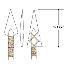 bone arrowheads   Re: Deer Leg Bone Arrowhead - Using Stone Tools