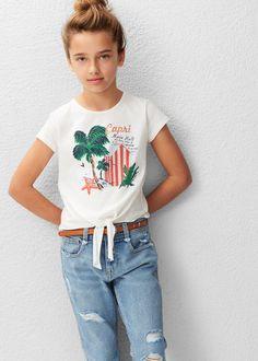 Camiseta algodón imagen | MANGO KIDS