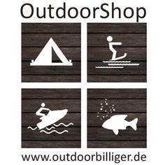 Logo OutdoorShop, ooutdoorbilliger, Outdoobekleidung, Outdoorzubehör, Spearfishing, Harpunen, Schwimmen, Triathlon, Wassersport, Badeinseln, Towables, Wasserski, Wakeboards, Kajaks, Paddelzubehör, Hüpfburgen, Tampoine und vieles mehr.