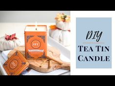 This tutorial for DIY homemade tea tin candles is a fun project to make with friends and makes a great foodie gift idea! These are perfect for fall or the ho. Homemade Tea, Homemade Candles, Homemade Crafts, Tin Candles, Candle Jars, Cheap Gifts, Diy Gifts, Modern Candles, Tea Tins