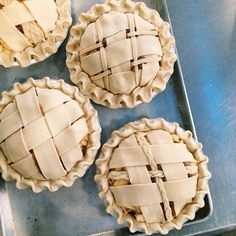 Get creative with lattice when you do your fall baking.