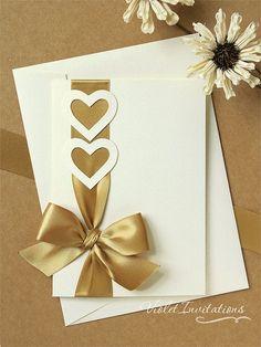 Resultado de imagen para invitaciones de boda en filigrana de papel