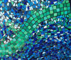 Mosaic Patterns by Alison's Imagination., via Flickr
