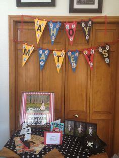 Jake and the Neverland Pirates birthday theme