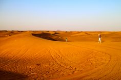 The ochre sands of the deserts around Dubai where camel riding and belly dancing are must tries. Find out more city secrets here http://www.suitcasesandstrollers.com/interviews/view/dubai-with-kids-dubai-insider?l=all #GoogleUs #suitcasesandstrollers #travel #travelwithkids #familytravel #familyholidays #familyvacations #traveltips #Dubai #desert
