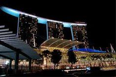 Marina Sands hotel. Singapore