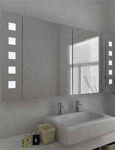 Quinn Demister LED Mirror Cabinet with Sensor, Demister Pad and ...