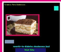 Tiramisu Para Diabeticos 183402 - Aprenda como vencer la diabetes y recuperar su salud.