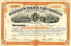 Pullman's Palace Car Company (March 1884)