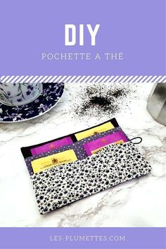 imposant idee cadeau couture idee couture cadeau noel femme Diy Couture, Couture Sewing, Pochette Portable Couture, Sewing Tutorials, Sewing Projects, Diy Sac, Tea Design, Sewing Lessons, Diy Purse