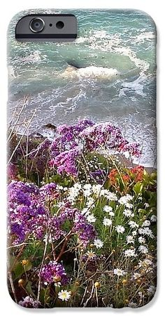 Waves IPhone 6s Case featuring the photograph Spring Greets Waves by Susan Garren