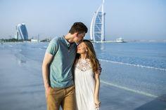 Love story on the beach #dubai #dubaiphotographer #couple #burjarab #engagement