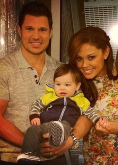 Nick, Baby Camden & Vanessa Lachey!