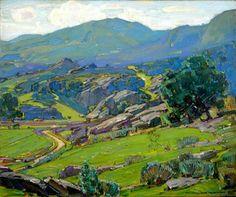 William Wendt Laguna Hills, 1928
