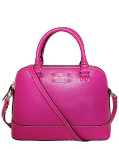 """kate spade new york """"Small Rachelle Wellesley"""" Leather Satchel is on Rue. Shop it now."""