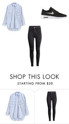"""""""Sans titre #47"""" by anissakhl on Polyvore featuring H&M et NIKE"""
