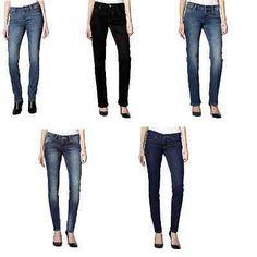 Mustang Jeans Damen Jeanshosen Straight Bootcut Skinny Stretch Denim div. Größen