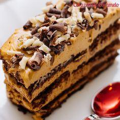 Chocotarta argentina - Corazón de Caramelo