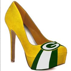 Green Bay Packers high heels!!!