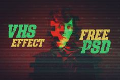 Cool &free Photoshop template with grunge VHSeffect for your photosor textsfrom PixelMustache. Get a cool artistic grunge effect for your photosin seconds. Moreamazing freebies & item...