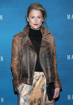 """Actress Mamie Gummer attends the 11th Annual New York Television Festival screening of """"Manhattan"""" Season Two at the SVA Theater on October 19, 2015 in New York City."""