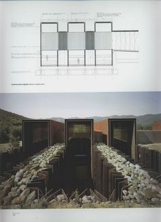 "n-architektur: "" Casa Horizonte, Spain RCR Arquitectes source: El Croquis 138 """