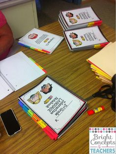 Bright Concepts 4 Teachers: Lesson Plans and Teaching Strategies: Setting Up Interactive Notebooks Interactive Student Notebooks, Science Notebooks, Math Notebooks, Interactive Learning, Teaching Strategies, Teaching Math, Teaching Themes, Maths, Beginning Of School