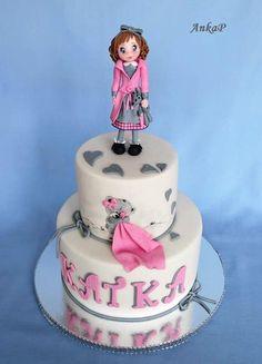 Girl baptism cake - cake by AnkaP