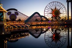 Disneyland/California Adventure. I love this picture and the good memories I have here.