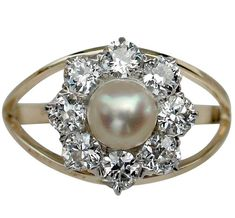 Tips for Buying Diamond Rings and Other Fine Diamond Jewelry Pearl And Diamond Ring, Diamond Wedding Rings, Diamond Engagement Rings, Diamond Jewelry, Pearl Rings, Real Gold Jewelry, Fine Jewelry, Edwardian Jewelry, Cultured Pearls