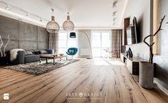 Mieszkanie w Gdańsku - Duży salon, styl nowoczesny - zdjęcie od Arte Dizain