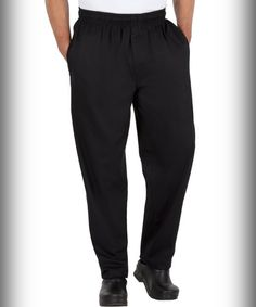 Happy Chef Cotton Baggy Chef - summer pants for men beach