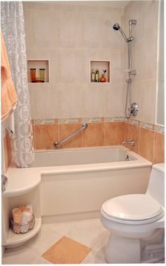 Bathroom Fancy White Curtain Bathroom With Contemporary Bathtub And Cool Aluminum Shower 12 Fascinating
